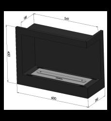 SimpleFire Corner 600 - 5