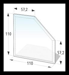 Golvskydd av klarglas - 2