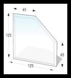 Golvskydd av klarglas - 3