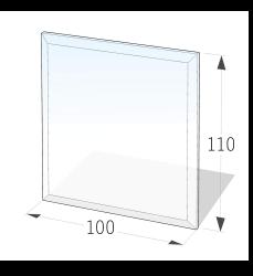 Golvskydd av klarglas - 7