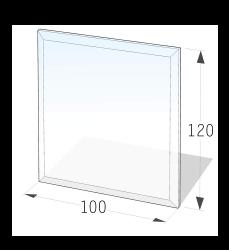 Golvskydd av klarglas - 8