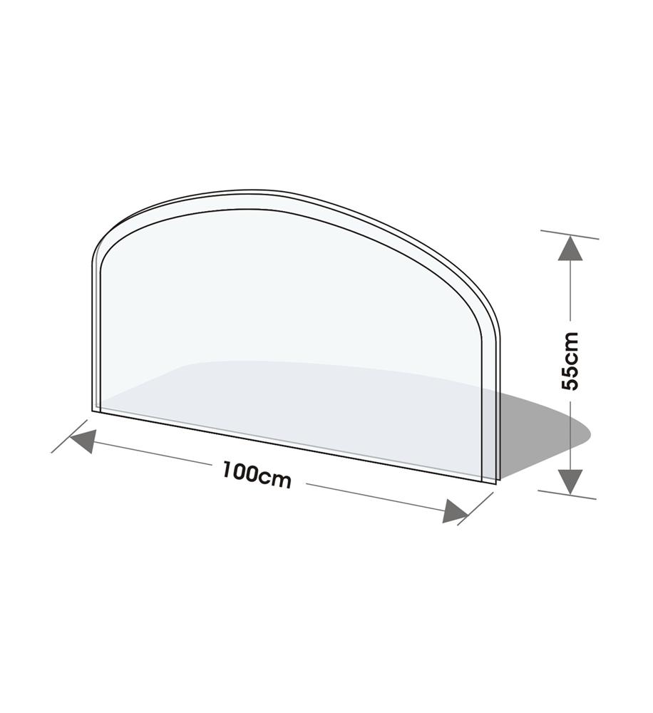 Golvskydd av klarglas - 1